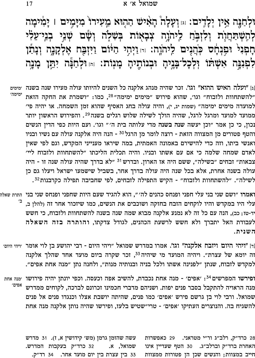 פירוש אברבנאל על ספר שמואל